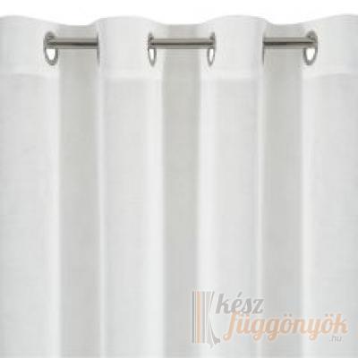Voile, fehér fényáteresztő függöny, méterárú