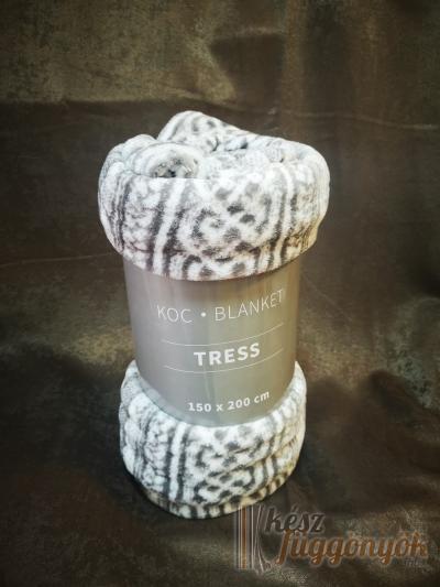 """Mikroszálas poliészter takaró, """"Tress2"""" méretei: 150 × 200cm"""