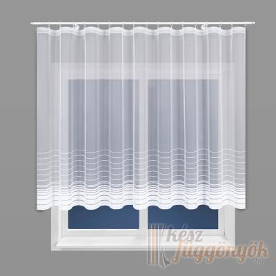 Hímzett, fényáteresztő készfüggöny set 160×300cm 1db, 250×200cm 1db