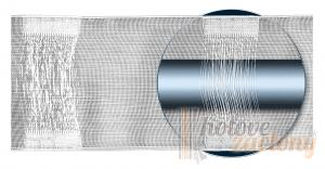 Riasiaca páska šírky: 8cm tunel ( riasi 1:2 )