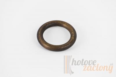 Krúžok drevený farba – orech