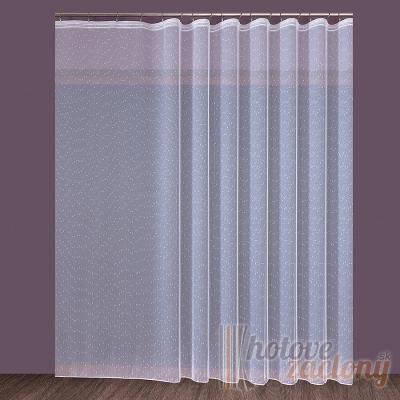 Hotová biela záclona