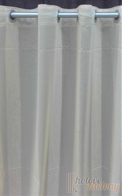 Hotový záves ľahký dekoračný béžový N 04