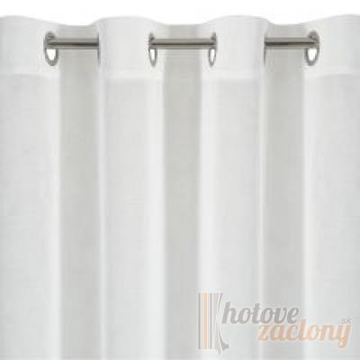 Záclona metrážová voál biely H2
