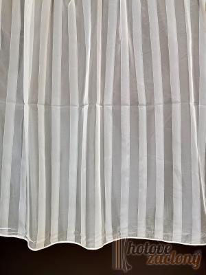 Záclona metrážová krémový voál Benito