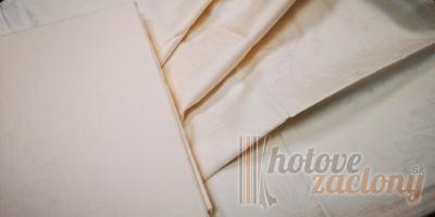 Obliečka damašková krémová, rozmerov: 70cm×90cm 2ks + 140cm×200cm 2ks
