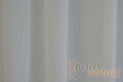 Záclona metrážová krepový voál so záťažovým olovkom