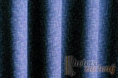"""Záves dekoračný mertážový """"Paul17"""" - tmavo modrá"""