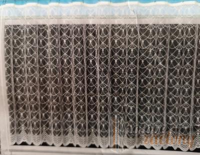 """Hotová záclona žakár """"Krémová"""" 160cm × 350cm"""