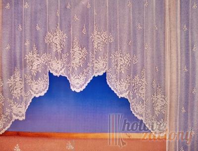 """Hotová záclona Žakár """"Adwin 2"""" rozmerov: šírky 180cm × výšky 350cm"""