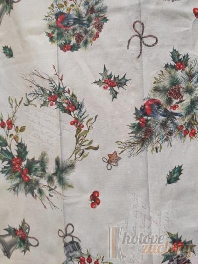 Vianočná látka bavlna 5