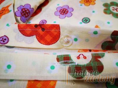 """Obliečka bavlnená """"Laura"""" rozmerov: 70cm×90cm (2ks) + 140cm×200cm (2ks)"""