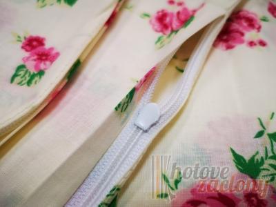 """Obliečka bavlnená """"Kruhy zelené"""" rozmerov: 70cm×90cm (2ks) + 140cm×200cm (2ks)"""