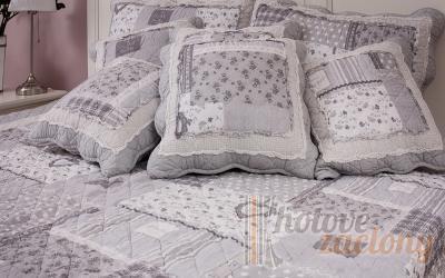 """Obliečka bavlnená """"Romantic"""" rozmerov: 70cm×90cm 2ks +140cm×200cm 2ks"""