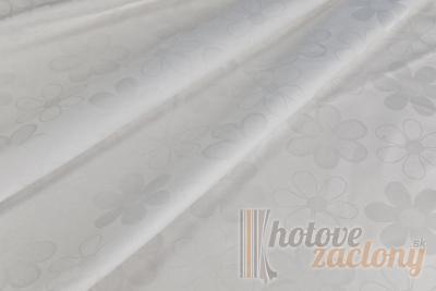 Obliečka damašková biela, rozmerov: 70cm×90cm 1ks + 140cm×200cm 1ks